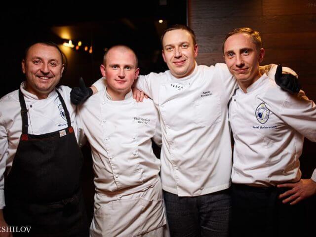 Gala dinner «Chefs Tour»