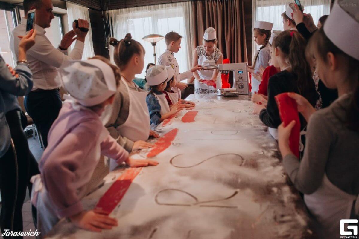 Master Class by Danil Kyva (pasta)